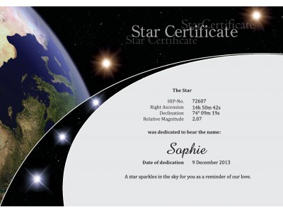 Name your own star at starlingobal yadclub Image collections